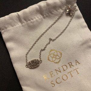 Kendra Scott Silver Bracelet in Platinum Drusy